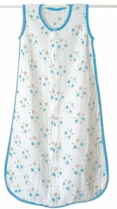 TEMPORARILY OUT OF STOCK Aden + Anais Muslin Baby Sleeping Bag - Star Bright