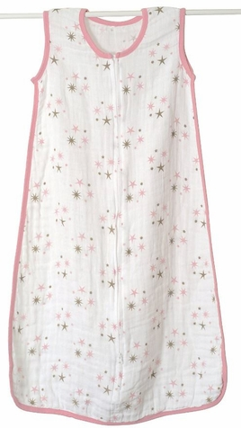 Aden + Anais Muslin Baby Sleeping Bag - Star Light