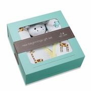 Aden + Anais New Beginnings Boxed Gift Set - Jungle Jam