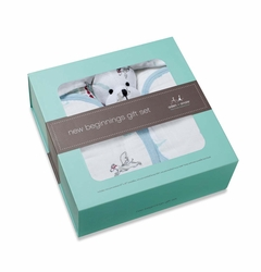 Aden + Anais New Beginnings Boxed Gift Set - Liam The Brave