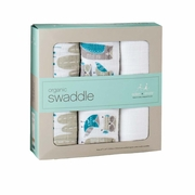 Aden + Anais Organic Swaddles 3 Pack - Wise Guys