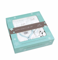 Aden + Anais Sweet Dreams Boxed Gift Set - Liam The Brave