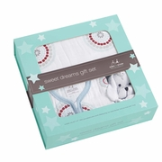 Aden + Anais Sweet Dreams Boxed Gift Set - Liam The Brave Medallion