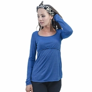 Annee Matthew Louie Long Sleeve Maternity Nursing Top