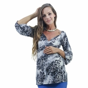 Annee Matthew Madrid Maternity Nursing Blouse