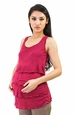 Annee Matthew Maternity And Nursing Sleeveless Tier Top