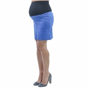 Annee Matthew Short Stretch Maternity Skirt