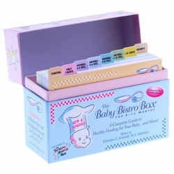 SOLD OUT Baby Bistro Box-Your Quick & Easy Guide To Feel Confident About Feeding Your Growing Baby