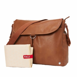 Babymel Ally Satchel Diaper Bag - Tan
