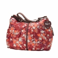 Babymel Amanda Hobo Diaper Bag - Orchid Bloom Reds
