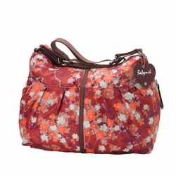 SOLD OUT Babymel Amanda Hobo Diaper Bag - Orchid Bloom Reds