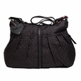 Babymel Amanda Quilted Hobo Diaper Bag - Black