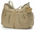 Babymel Amanda Quilted Hobo Diaper Bag - Nude