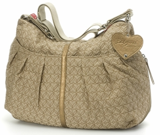 SOLD OUT Babymel Amanda Quilted Hobo Diaper Bag - Nude