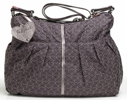 SOLD OUT Babymel Amanda Quilted Hobo Diaper Bag - Pewter Grey