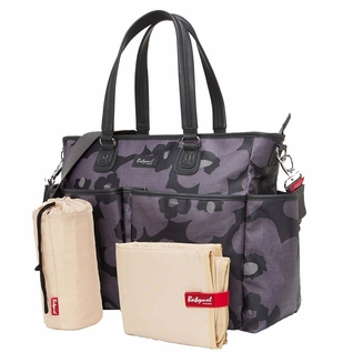 Babymel Bella Diaper Bag- Grey Floral