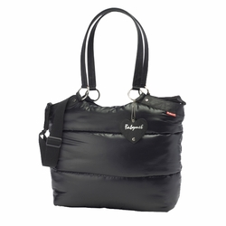 Babymel Camden Carry All Puff Diaper Bag - Black