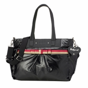 Babymel Cara Tote Diaper Bag - Black Gloss