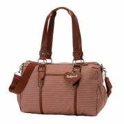 Babymel Ella Duffel Diaper Bag - Red Stripe