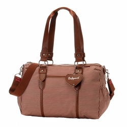 SOLD OUT Babymel Ella Duffel Diaper Bag - Red Stripe