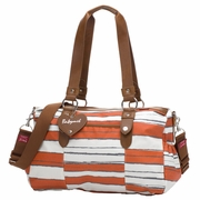 Babymel Ella Duffel Diaper Bag - Sunset Orange