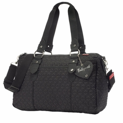 SOLD OUT Babymel Ella Quilted Shoulder Diaper Bag - Black