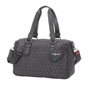 TEMPORARILY OUT OF STOCK Babymel Ella Quilted Shoulder Diaper Bag - Pewter