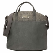 Babymel Grace Tote Diaper Bag - Grey