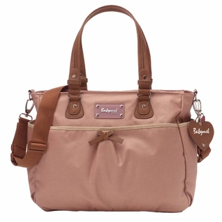 TEMPORARILY OUT OF STOCK Babymel Lily Tote Diaper Bag - Oyster