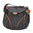Babymel Ruby Rucksack Diaper Bag - Black Faux Leather