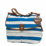 SOLD OUT Babymel Satchel Diaper Bag - Boathouse Blue