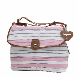 Babymel Satchel Diaper Bag - Cotton Candy