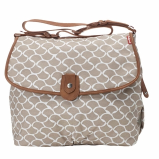 TEMPORARILY OUT OF STOCK Babymel Satchel Diaper Bag - Wave Fawn