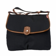 Babymel Satchel Diaper Bag - Waxy Black