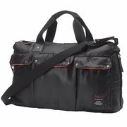 Babymel Soho Messenger Diaper Bag-Black