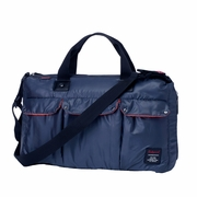 Babymel Soho Messenger Diaper Bag - Navy Blue