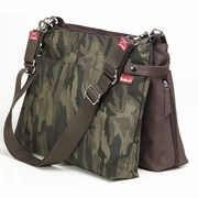 SOLD OUT Babymel X2 Diaper Bag - Camo & Chocolate