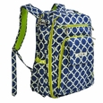 Ju-Ju-Be Be Right Back Backpack Style Diaper Bag - Royal Envy