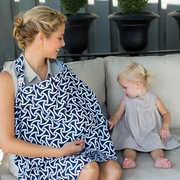 Bebe au Lait Cotton Nursing Cover - Camden Lock