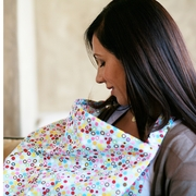 Bebe au Lait Cotton Nursing Cover - Hot Dots