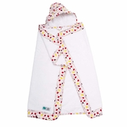 Bebe Au Lait Lille Hooded Towel - Pink Fishies