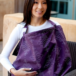 SOLD OUT Bebe au Lait Royale Cotton Nursing Cover