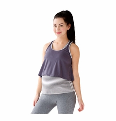 Belabumbum Active Collection Layered Maternity Nursing Cami