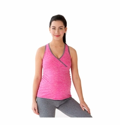 Belabumbum Active Collection Maternity Nursing Shirttail Cami