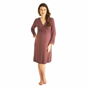Belabumbum Eva Maternity Nursing Lounge Dress