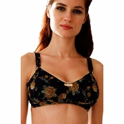 TEMPORARILY OUT OF STOCK Belabumbum Fleur Floral Print Maternity And Nursing Bra