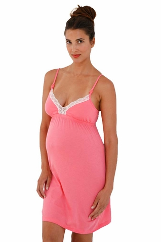 SOLD OUT Belabumbum Hana Maternity Nursing Chemise Nightgown