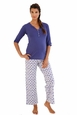 Belabumbum Ikat Maternity Nursing Tunic And Pant Lounge Set