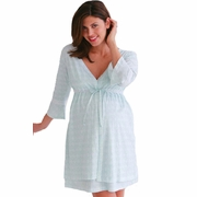 SOLD OUT Belabumbum Lacey Maternity And Nursing Robe