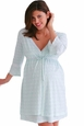 Belabumbum Lacey Maternity And Nursing Robe